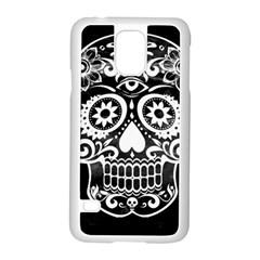 Skull Samsung Galaxy S5 Case (white)