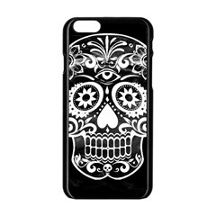 Skull Apple iPhone 6 Black Enamel Case