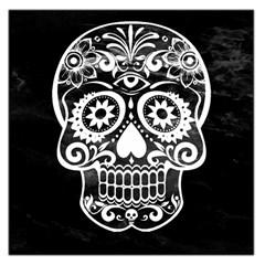 Skull Large Satin Scarf (Square)