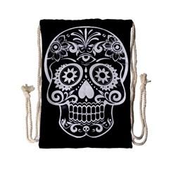 Skull Drawstring Bag (small)