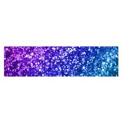 Glitter Ocean Bokeh Satin Scarf (Oblong)