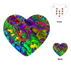 Powerfractal 4 Playing Cards (Heart)