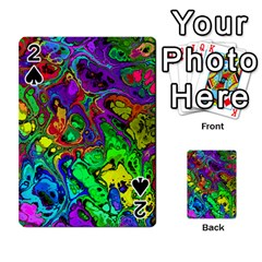 Powerfractal 4 Playing Cards 54 Designs