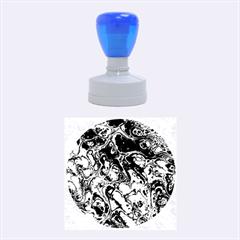 Powerfractal 4 Rubber Round Stamps (Medium)