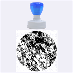 Powerfractal 4 Rubber Round Stamps (large)