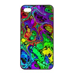 Powerfractal 4 Apple iPhone 4/4s Seamless Case (Black)