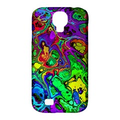 Powerfractal 4 Samsung Galaxy S4 Classic Hardshell Case (pc+silicone)