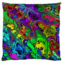 Powerfractal 4 Large Flano Cushion Cases (One Side)