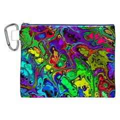 Powerfractal 4 Canvas Cosmetic Bag (XXL)