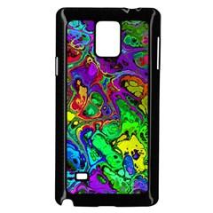 Powerfractal 4 Samsung Galaxy Note 4 Case (Black)