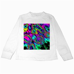 Powerfractal 2 Kids Long Sleeve T-Shirts