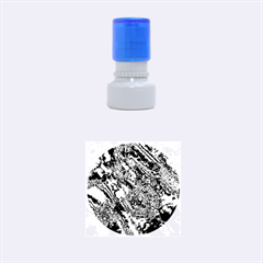 Powerfractal 2 Rubber Round Stamps (Small)