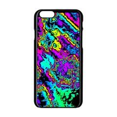 Powerfractal 2 Apple Iphone 6 Black Enamel Case