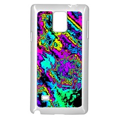 Powerfractal 2 Samsung Galaxy Note 4 Case (white)