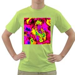 Powerfractal 01 Green T-Shirt