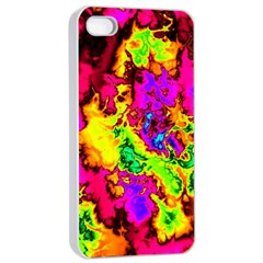 Powerfractal 01 Apple iPhone 4/4s Seamless Case (White)