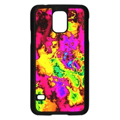 Powerfractal 01 Samsung Galaxy S5 Case (black)