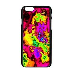 Powerfractal 01 Apple iPhone 6 Black Enamel Case