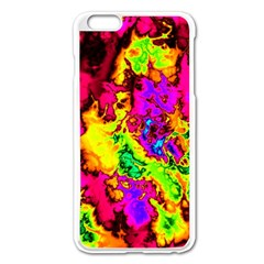 Powerfractal 01 Apple iPhone 6 Plus Enamel White Case