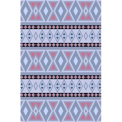 Fancy Tribal Border Pattern Blue 5 5  X 8 5  Notebooks
