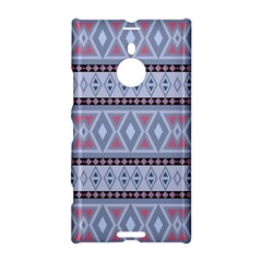 Fancy Tribal Border Pattern Blue Nokia Lumia 1520