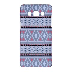 Fancy Tribal Border Pattern Blue Samsung Galaxy A5 Hardshell Case