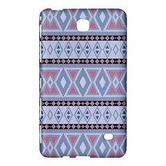 Fancy Tribal Border Pattern Blue Samsung Galaxy Tab 4 (8 ) Hardshell Case