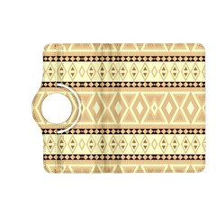 Fancy Tribal Border Pattern Beige Kindle Fire Hd (2013) Flip 360 Case