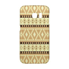 Fancy Tribal Border Pattern Beige Galaxy S6 Edge