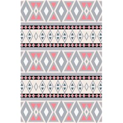 Fancy Tribal Border Pattern Soft 5.5  x 8.5  Notebooks