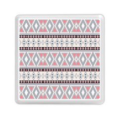 Fancy Tribal Border Pattern Soft Memory Card Reader (Square)