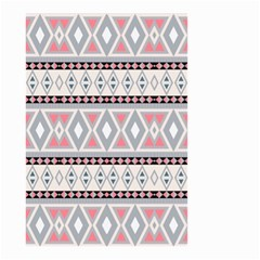 Fancy Tribal Border Pattern Soft Small Garden Flag (Two Sides)