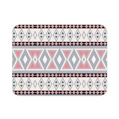 Fancy Tribal Border Pattern Soft Double Sided Flano Blanket (Mini)