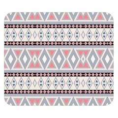 Fancy Tribal Border Pattern Soft Double Sided Flano Blanket (Small)