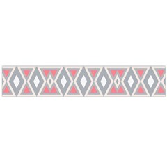 Fancy Tribal Border Pattern Soft Flano Scarf (Large)