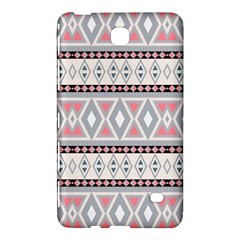 Fancy Tribal Border Pattern Soft Samsung Galaxy Tab 4 (7 ) Hardshell Case