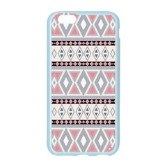Fancy Tribal Border Pattern Soft Apple Seamless iPhone 6 Case (Color)