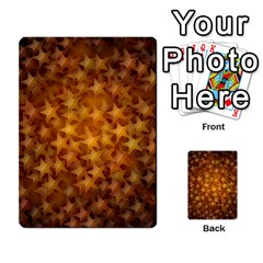 Gold Stars Multi-purpose Cards (Rectangle)