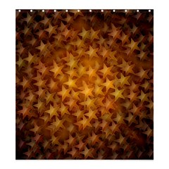 Gold Stars Shower Curtain 66  x 72  (Large)