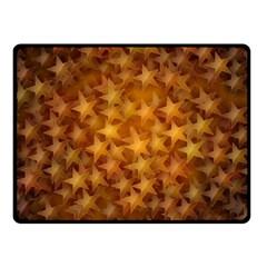 Gold Stars Fleece Blanket (Small)