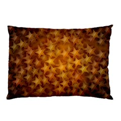 Gold Stars Pillow Cases (two Sides)