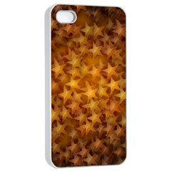 Gold Stars Apple Iphone 4/4s Seamless Case (white)