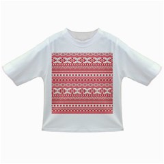 Fancy Tribal Borders Pink Infant/Toddler T-Shirts