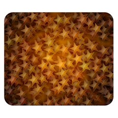 Gold Stars Double Sided Flano Blanket (Small)