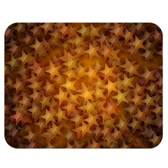 Gold Stars Double Sided Flano Blanket (medium)