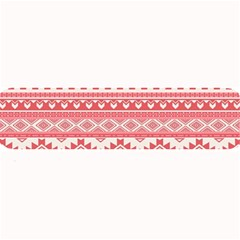 Fancy Tribal Borders Pink Large Bar Mats