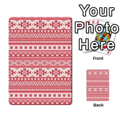 Fancy Tribal Borders Pink Multi-purpose Cards (Rectangle)