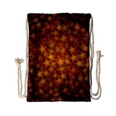 Gold Stars Drawstring Bag (Small)