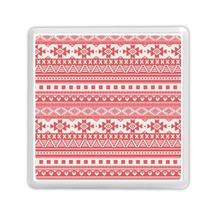 Fancy Tribal Borders Pink Memory Card Reader (Square)