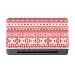 Fancy Tribal Borders Pink Memory Card Reader With Cf
